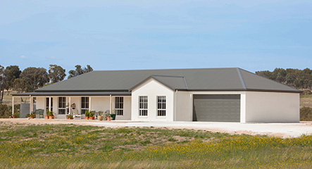 PAAL Kit Homes' Shoalhaven built at Bathurst in NSW.