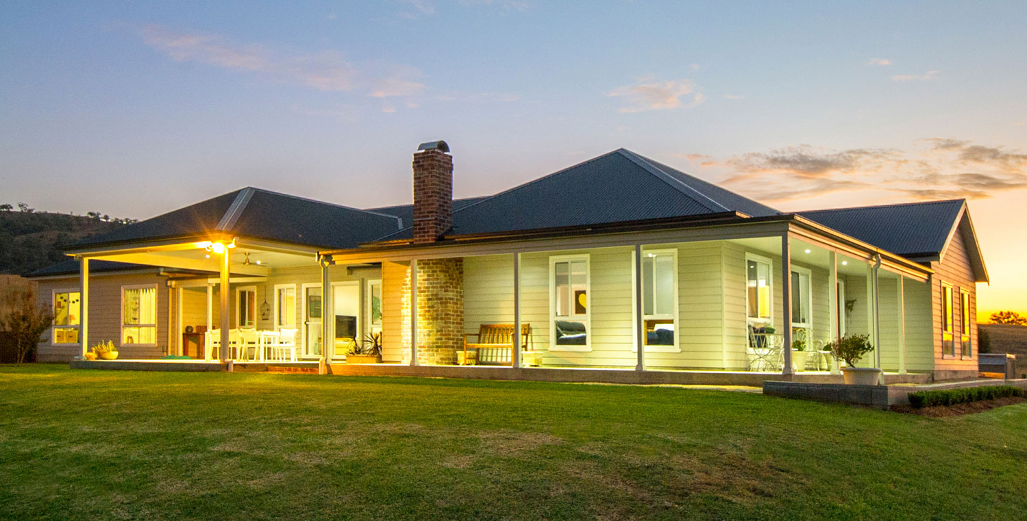 Steven and Michelle Clydsdale chose a steel-framed house from Paal Kit Homes when they built in Scone, New South Wales (NSW).