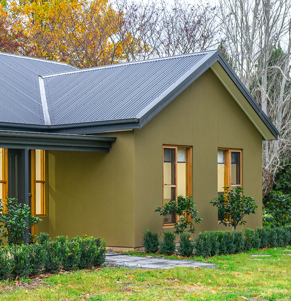 Partnered with Paal Kit Homes and not hindered by their lack of experience, couple enjoys owner building their own home in Tumut, NSW. PAAL Kit Homes NSW VIC QLD