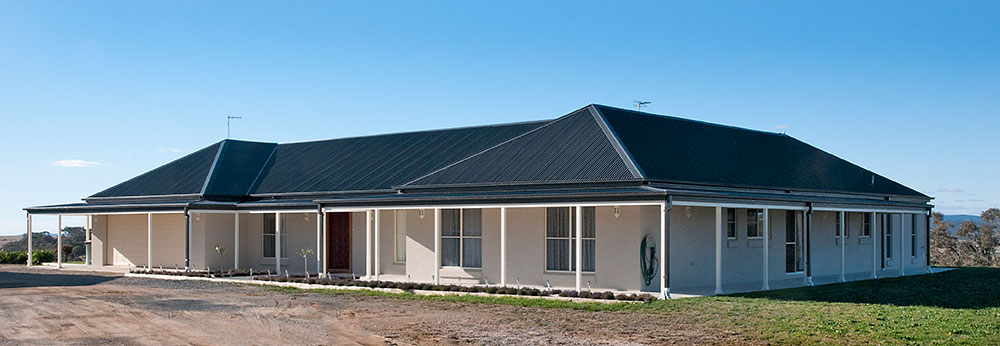 Paal kit homes nsw vic qld big altered kit home tackled for Kit home designs nsw