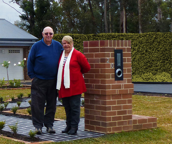 Jan and Ken Gilmore of Yellow Rock rebuilt to Flame Zone specifications in partnership with Paal Kit Homes of Emu Plains. PAAL Kit Homes NSW, VIC, QLD.