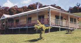 kit home with all round verandah