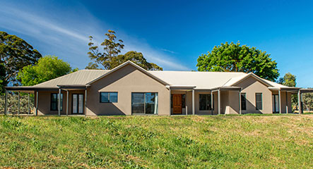 PAAL Kit Homes' Hawkesbury built at Hahndorf in South Australia.