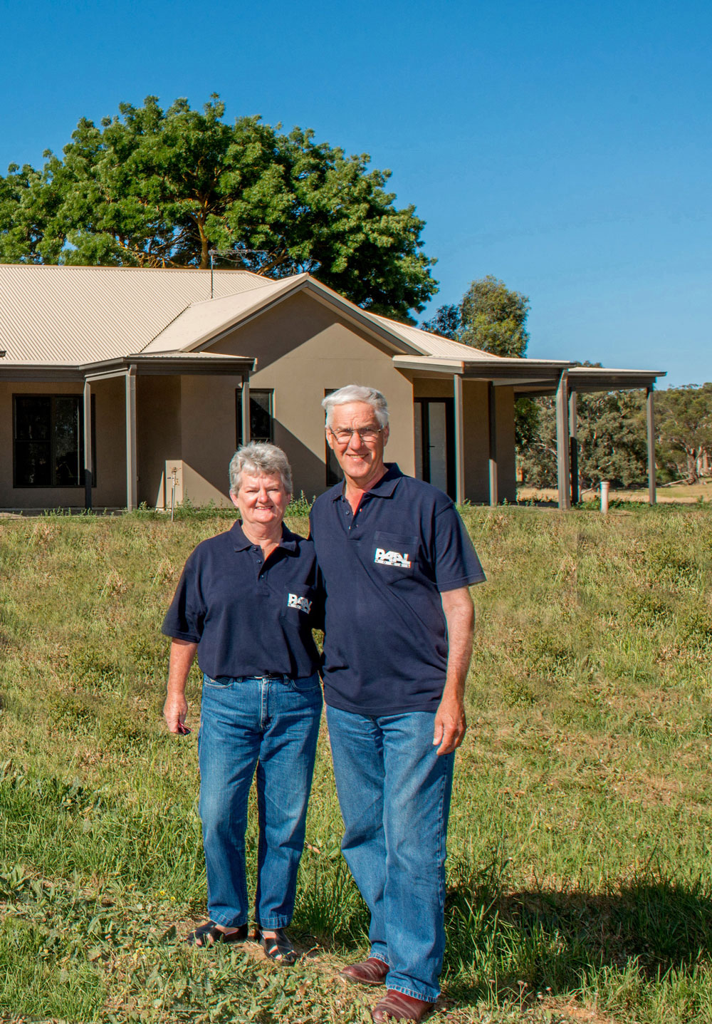 The Marshmans had the confidence to extensively modify the original Hawkesbury kit home design, with Paal's help.