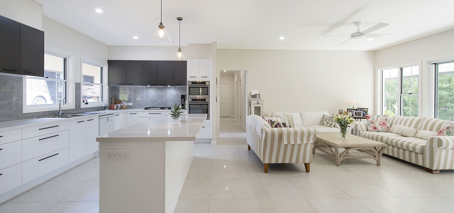 The Darling by Paal Kit Homes offers spacious open plan living.