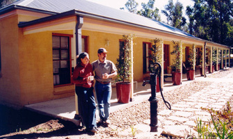 Channel Nines renovation rescue team finished off a steel framed Paal kit home owner built after bushfire loss at Kurrajong New South Wales. PAAL Kit Homes NSW, VIC, QLD.