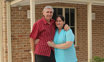 Paal kit homes' Hartley design chosen as a retirement owner building project in South Maroota NSW saving more than $100,000 in the process. PAAL Kit Homes Australia, NSW, VIC, QLD.