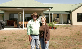 A kit home was a logical choice for home owner builders Alan and Joanne Heading of Central Queensland. PAAL Kit Homes Australia, NSW, VIC, QLD.