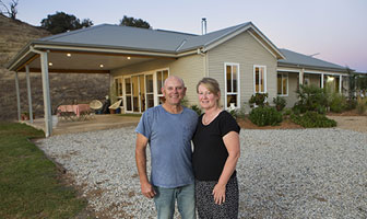 We chose their Shoalhaven PAAL Kit Home design, because the floor plan allowed us to make the most of our block of land, which has beautiful views over a weir. PAAL Kit Homes NSW QLD VIC.
